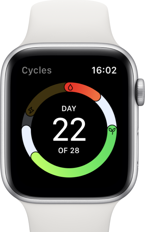 Cycles watch 1