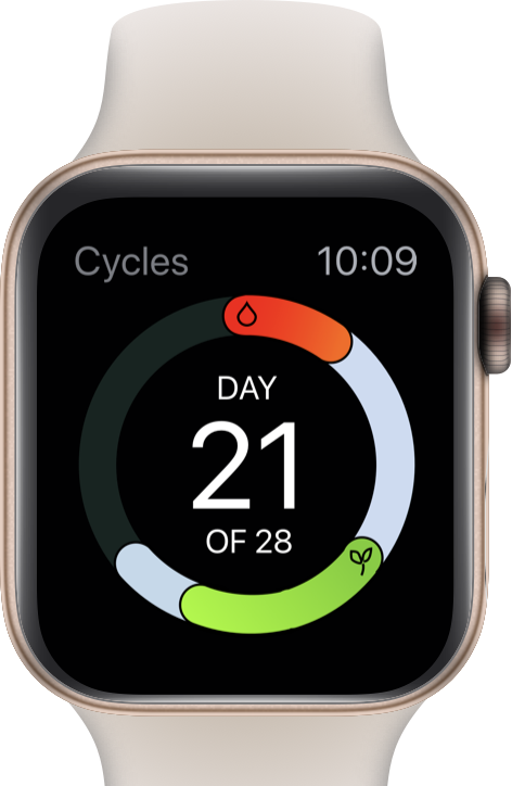Cycles watch 2x